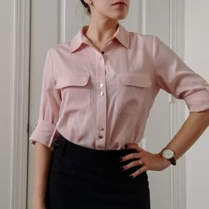 Pink Button Down Shirt